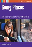 Going Places  A Reader s Guide to Travel Narrative PDF