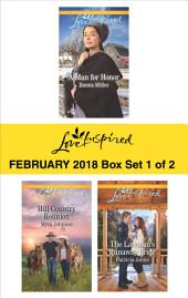 Harlequin Love Inspired February 2018 - Box Set 1 of 2: A Man for Honor\Hill Country Reunion\The Lawman's Runaway Bride