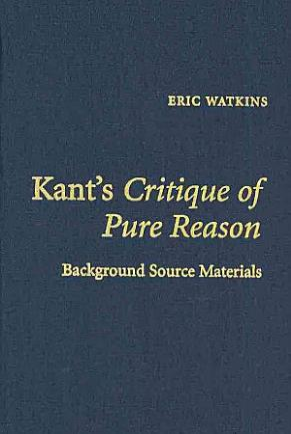 Kant s Critique of Pure Reason PDF