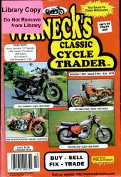 WALNECK'S CLASSIC CYCLE TRADER, OCTOBER 1997