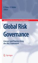 Global Risk Governance