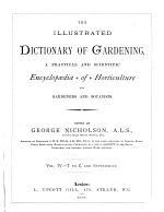 The Illustrated Dictionary of Gardening: T to Z, and Supplement