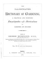The Illustrated Dictionary of Gardening  T to Z  and Supplement PDF