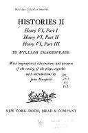 Histories II: Henry VI, Part I