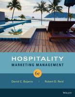 Hospitality Marketing Management  6th Edition PDF