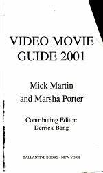 Video Movie Guide 2001