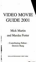 Video Movie Guide 2001 PDF