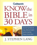 Guideposts Know the Bible in 30 Days
