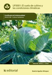 El suelo de cultivo y las condiciones climáticas. AGAC0108