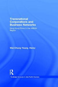 Transnational Corporations and Business Networks PDF