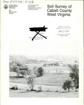 Soil survey of Cabell County, West Virginia