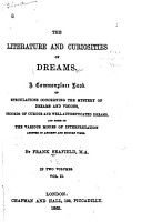 The Literature and Curiosities of Dreams PDF