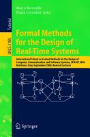 Formal Methods for the Design of Real Time Systems PDF