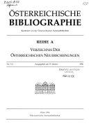 Oesterreichische Bibliographie PDF