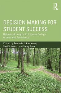 Decision Making for Student Success Book