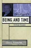 Heidegger s Being and Time PDF