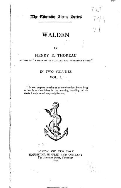 Download Walden Book