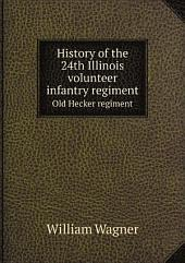 History of the 24th Illinois volunteer infantry regiment
