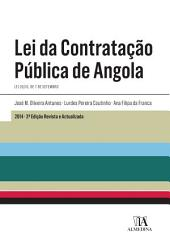 Lei da Contratação Pública de Angola - 2a Edição