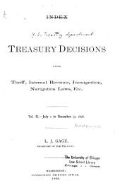 Treasury Decisions Under Customs and Other Laws: Volume 2; Volume 34