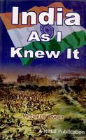 India as I Knew it PDF