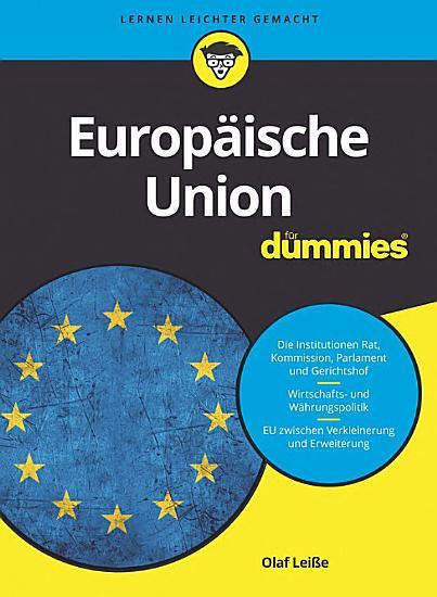 Europ  ische Union f  r Dummies PDF