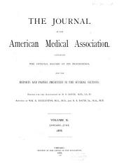 Journal of the American Medical Association: Volume 10