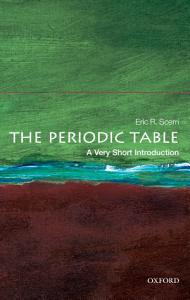 The Periodic Table  A Very Short Introduction PDF