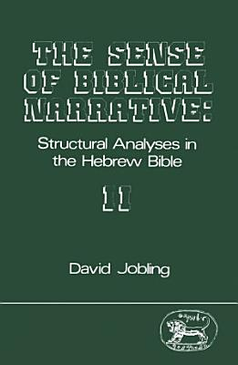 The Sense of Biblical Narrative II PDF