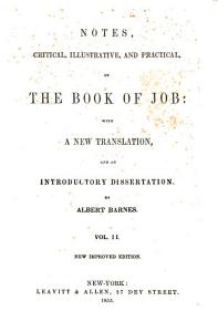 Notes of the Book of Job PDF