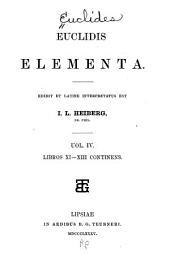 Euclidis Opera omnia: Elementa, libri I-XIII