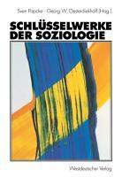 Schl  sselwerke der Soziologie PDF