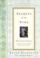 Secrets of the Vine Devotional PDF