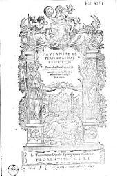 Veteris Graeciae descriptio: Romulus Amasaeus vertit