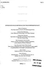 Maske und Kothurn PDF