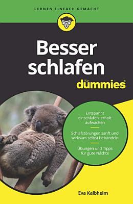 Besser schlafen f  r Dummies PDF