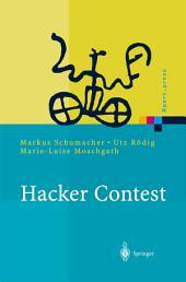 Hacker Contest: Sicherheitsprobleme, Lösungen, Beispiele