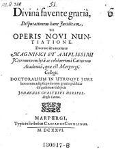 De operis novi nuntiatione