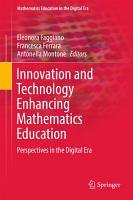 Innovation and Technology Enhancing Mathematics Education PDF