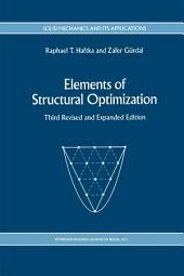 Elements of Structural Optimization: Edition 3