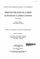 Instructor s Resource Manual to Accompany Through the Eyes of a Child PDF