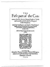Shakespeare-quarto Facsimiles: Contention. 1594