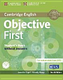 Objective First   Fourth Edition  Student s Book and CD ROM PDF