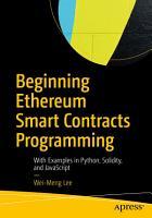 Beginning Ethereum Smart Contracts Programming PDF