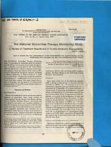 The National Gonorrhea Therapy Monitoring Study PDF