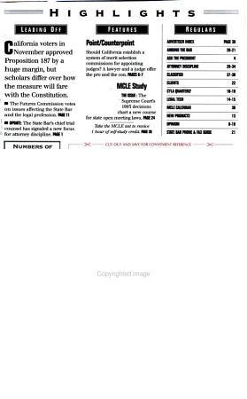 California Bar Journal PDF
