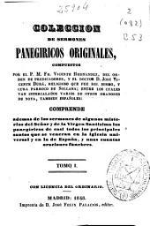 Colección de sermones panegíricos originales: (1848. 348 p. )