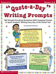 Quote a Day  Writing Prompts PDF