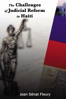 Challenges of Judicial Reform in Haiti PDF