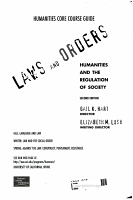 Laws and Orders  Guide and writer s handbook PDF